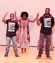 Entertainment with depth displayed by members of the Young Actors Guild. (Courtesy photo)