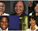 Top Row from Left: LaToia Jones (Photo/Twitter, @latoiajones) | Karen Clark-Peterson (Photo/senate.la.gov) | Stephanie Rawlings-Blake ((Photo by Paul Morigi/Getty Images for MGM National Harbor) | Bottom Row from Left: Jehmu Greene (Photo by Jason Kempin/Getty Images for Tribeca Film Festival) | Lorna Johnson (Photo/Facebook, LornaMaeJohnson)