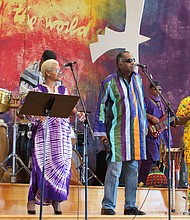 Positive vibrations created courtesy of African Jazz Ensemble/Galaxy. (Photo: Karanja A. Ajanaku)
