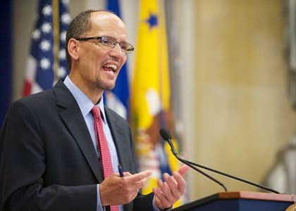 Tom Perez has been elected to serve as Chair of the Democratic National Committee.