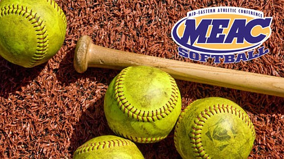 Three of the 13 MEAC softball teams are in action today, in a total of five games.