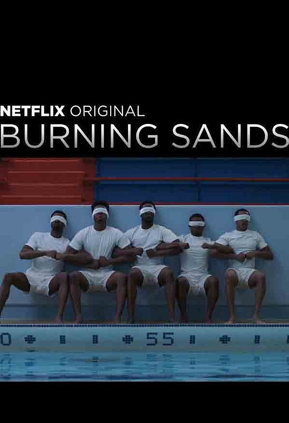 "Former child star Imani Hakim from the hit TV sitcom ""Everybody Hates Chris"" appears in ""Burning Sands,"" a Netflix original ..."