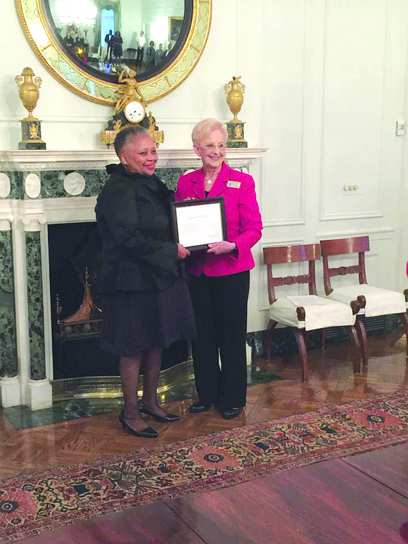 DeKalb Board of Health employee Kassie Bennett has received the Servant's Heart Award from Georgia first lady Sandra Deal for ...