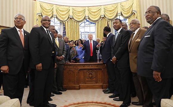 Declaring their admiration and support for the mission of historically black colleges and universities, US President Donald Trump and several ...