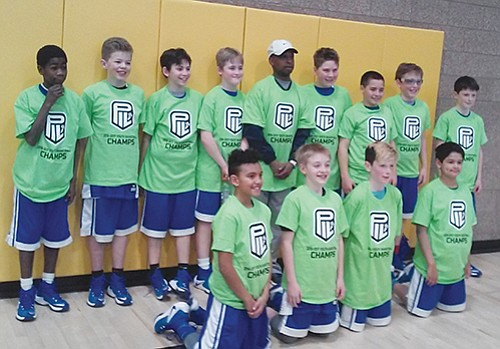 Boys 6th grade team wins respective youth league bracket