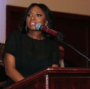 Special Guest, 48th Annual NAACP Image Award Recipient Best Supporting Actress in a Drama Series, Naturi Naughton speaks. -- Photo by April A. Ward