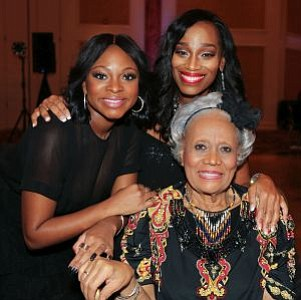 Pictured Left to Right: Naturi Naughton with Celebrity MC & News Broadcaster of PHL17 Philadelphia and Author, Jennifer Lewis-Harris and Local Television Legend, Trudy Haynes. -- Photo by April A. Ward