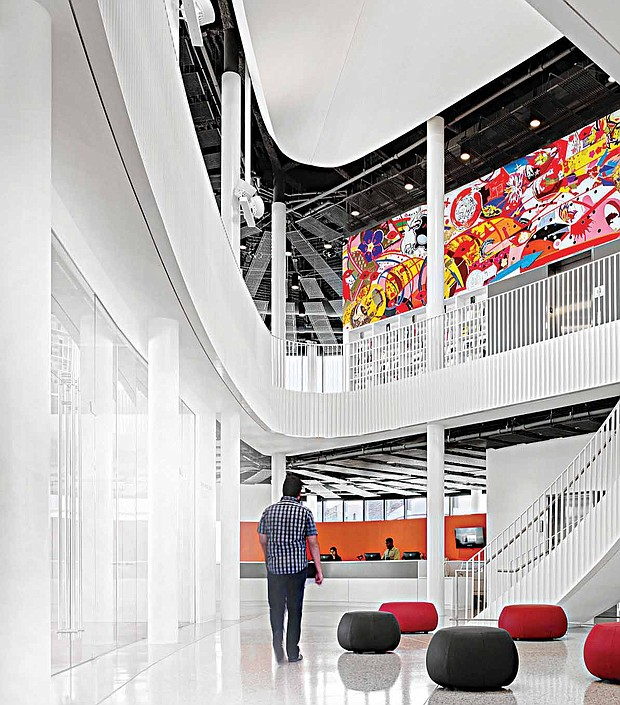 The 2017 CNDA second place winner of the Richard H. Driehaus Foundation was Skidmore, Owings & Merrill LLP for Chicago Public Library – Chinatown Branch.