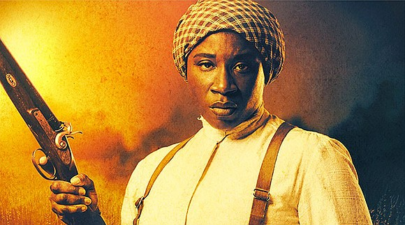 Actress brings Harriet Tubman to life in slave drama.