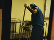 "Hospital room floors may be more of a ""superbug"" threat than many hospital staffers realize, new research suggests. ""Efforts to ..."