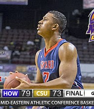 Howard Uses Balanced Attack to Upset Coppin State