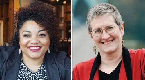 Jamila Singleton Munson (left) and Rita Moore (right)