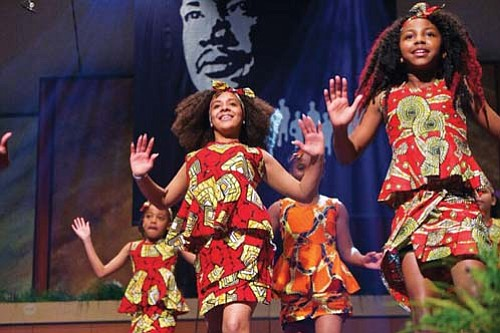 Nine premier dancers from the Portland Ballet will star and Portland's Kukatonon Children's African Dance Troupe will perform as special ...