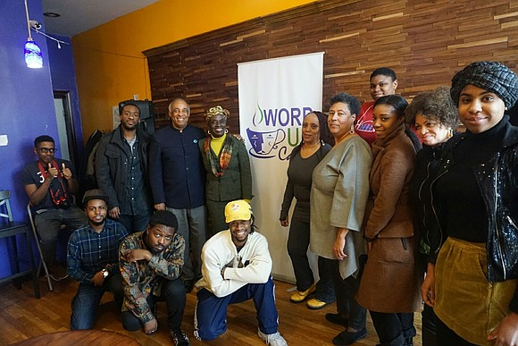 "Saturday, Feb. 11, 2017, East New York Restoration hosted an open mic ""Unity in the Community"" at the local East ..."