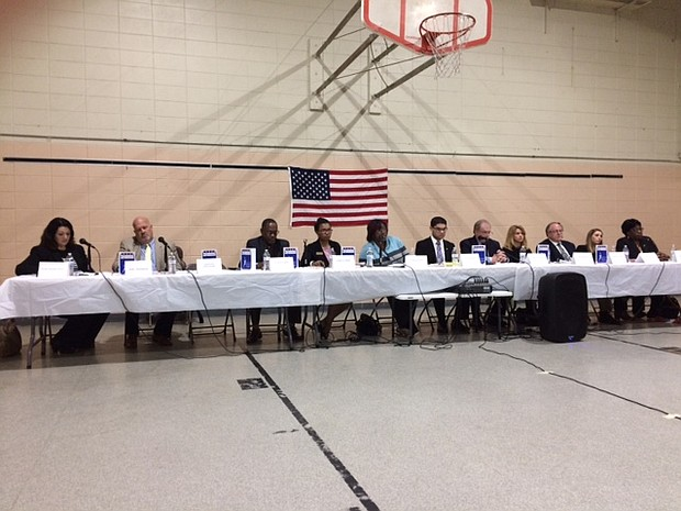Voters got a chance to hear from 11 of the candidates running for 3 open at-large city council seats in Joliet this past weekend at the Spanish Community Center in Joliet.