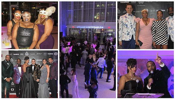 Clothing boutique Harlem Haberdashery recently hosted their annual Masquerade Ball in the Mural Pavilion at NYC Health & Hospital/Harlem.