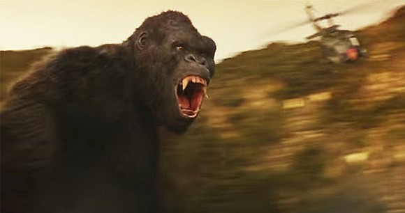 King Kong, the misunderstood primate, is back and full of justified rage.