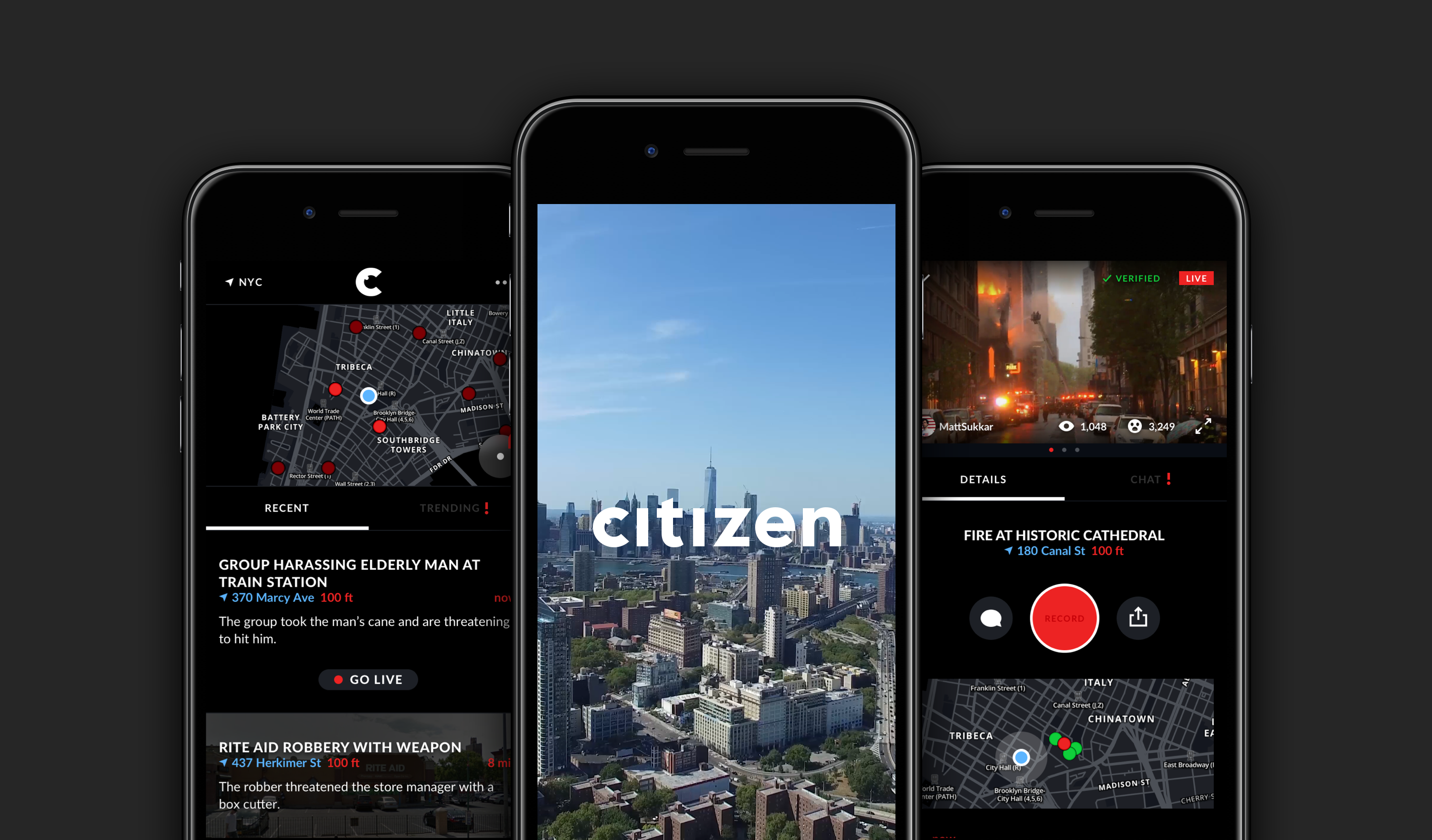 Real Time 911 >> Citizen app launches in NYC to spread word about crime | New York Amsterdam News: The new Black view