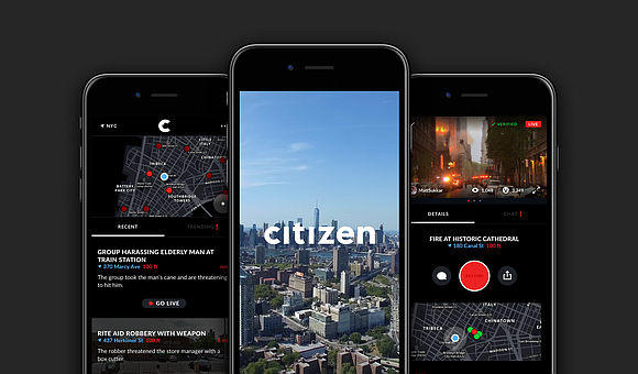 Citizen app (formerly known as Vigilante) launched in the city this week in an effort to combat violence, give residents ...