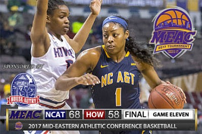 North Carolina A&T State Stuns Howard in Quarterfinals