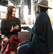 In a frank and free-flowing conversation with the TSD's ACCESS 901 columnist Joy Doss, actress and business magnate Priscilla Presley talked about Elvis and the black community in a way that even she noted she had not done for publication before. (Photo: Karanja A. Ajanaku)