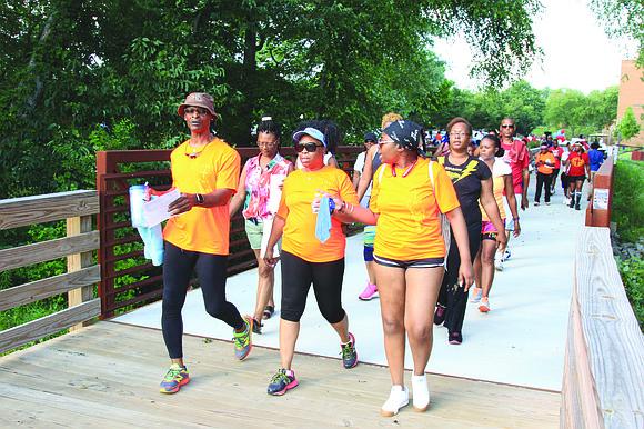 "Millennials, seniors, churches, HOAs, organizations, businesses, schools and others can take steps toward good health at ""America Walks DeKalb Walks"" ..."