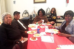 These ladies were among those who attended the Black History Month program held at the Howard Park Senior Center Choir on Thursday, February 23, 2017.
