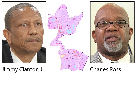 Jimmy Clanton, Jr. and Dr. Charles Ross bid to be the first city council member for the Stonecrest Post 1 ...