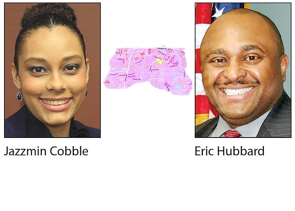 In the battle for the Stonecrest Post 3 council seat, government auditor Jazzmin Cobble and congressional outreach director Eric Hubbard ...