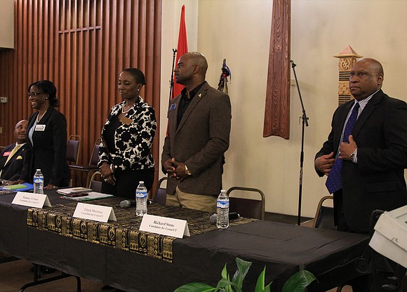 The race for the Stonecrest District 5 seat is pitting a businesswoman, two teachers, and a retired police officer against ...