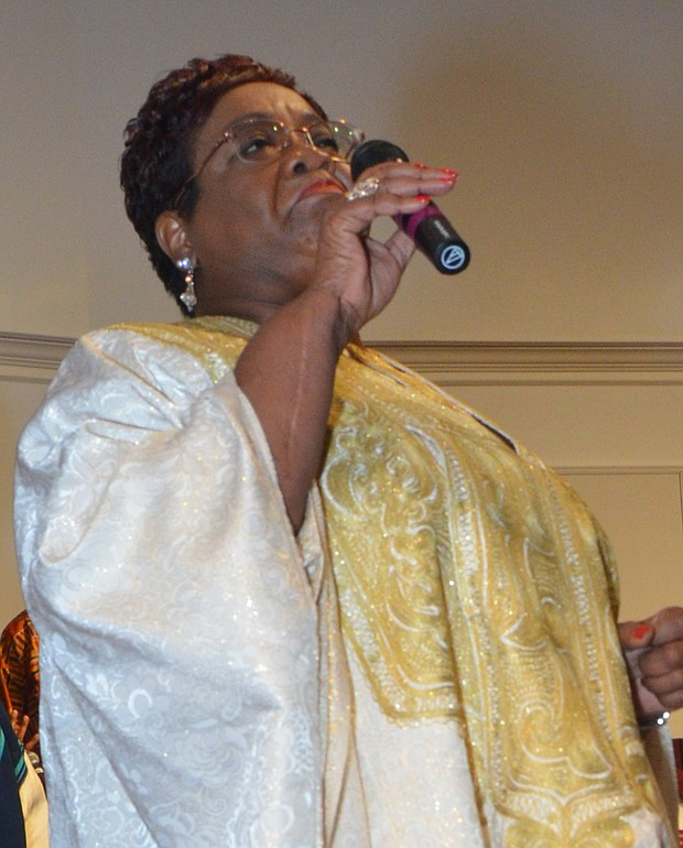 """Deborah Manning Thomas will perform Lucie E. Campbell's """"Something Within"""" during tribute to Campbell at Mt. Nebo Baptist Church. (Photo: Tyrone P. Easley)"""
