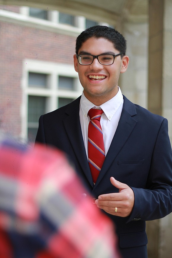Alex Rodriguez is one of 15 candidates running for 3 open, at-large city council seats in Joliet.