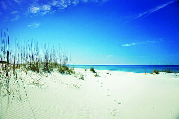 Panama City Beach's world-famous white sand stretches along the Gulf of Mexico for 27 miles. It is only one of ...