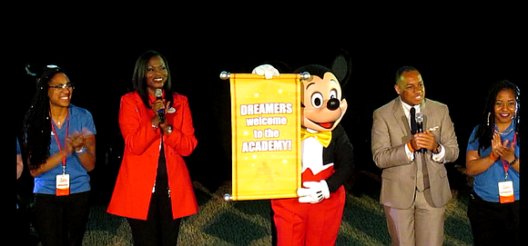 The Walt Disney World Resort welcomed the 100 teens selected to participate in the 10th Disney Dreamers Academy with Steve ...