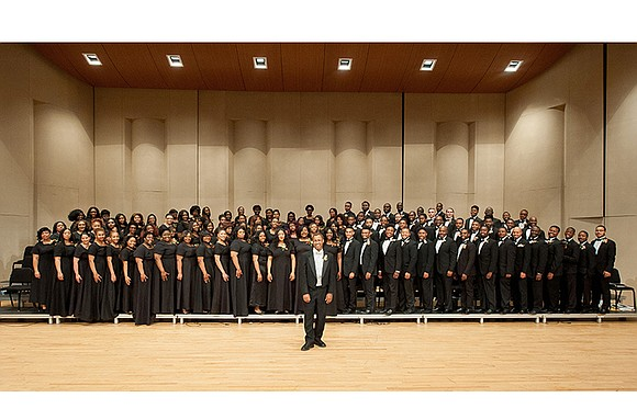 The Morgan State University Choir will perform at 7 p.m. Tuesday, March 21, at Fifth Baptist Church, 1415 W. Cary ...