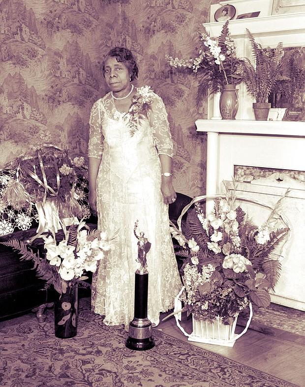 Lucie E. Campbell (Photo: Center for Southern Folklore via http://memphismusichalloffame.com/)