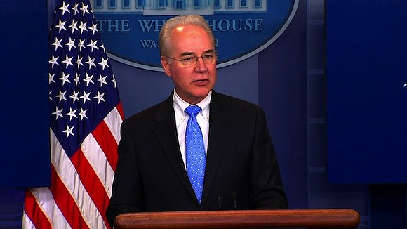 Health and Human Services Secretary Tom Price said Sunday that the House Republican health care plan will not leave anybody ...