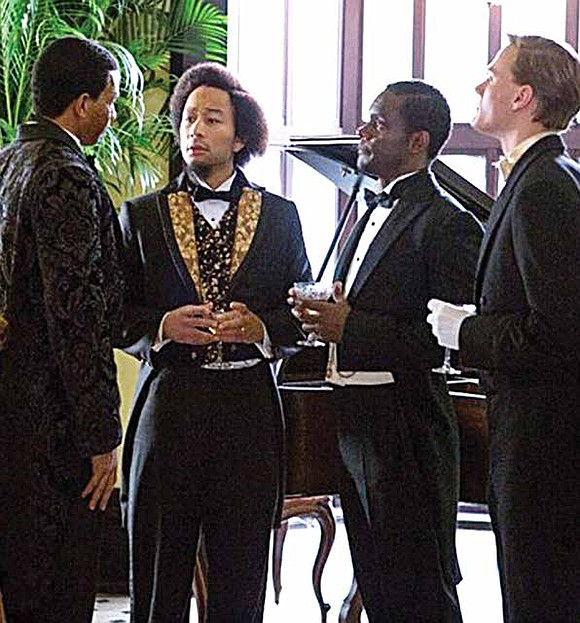 WGN America has released a first look image of Grammy, Golden Globe and Academy Award winning artist John Legend as ...