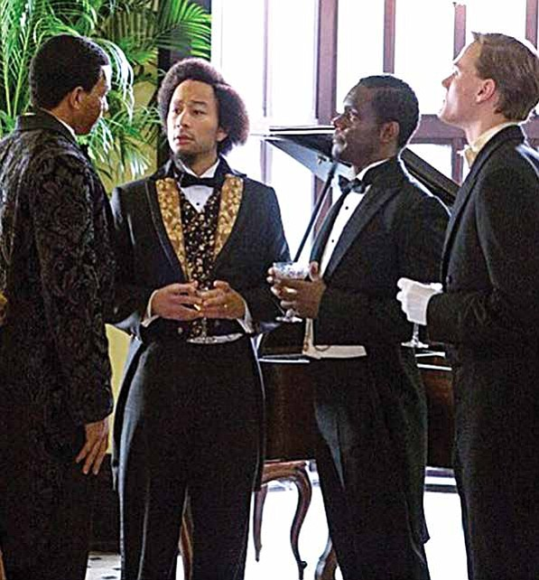"""Underground"" Executive Producer, John Legend, Guest-Starring as Frederick Douglass in Season Two which premiered on Wednesday, March 8 at 10:00 p.m. ET/PT on WGN."
