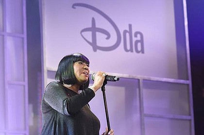 Legendary singer, actress and author Patti LaBelle gives a powerful performance during the commencement of Disney Dreamers Academy.