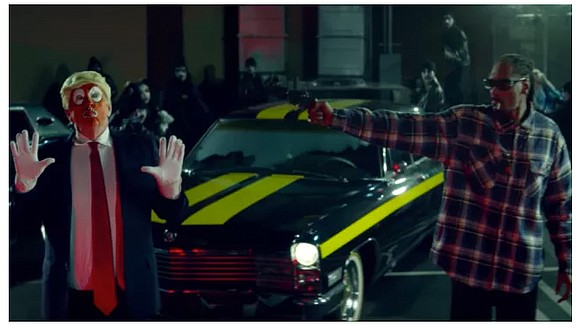"Snoop Dogg's latest music video, ""Lavender,"" is drawing some controversy because it depicts President Donald Trump as a clown and, ..."