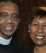 Rep. Bobby L. Rush (IL-01) (left) pictured with his wife, Carolyn. Photo courtesy of the Office of Rep. Bobby L. Rush.