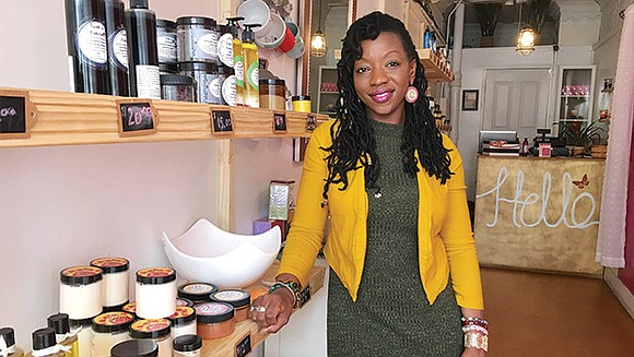 Inside a tiny storefront on Jamaica Plain's South Street, the light-filled interior of Faith's Naturals feels surprisingly spacious. White walls, ...