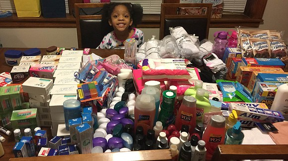 Armani Crews was turning 6. But what she was asking her parents for was far from a typical birthday party.