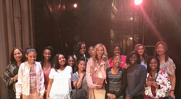 Tina Lawson is all about uplifting black girls, like she did for her insanely talented daughters Beyoncé and Solange. On ...
