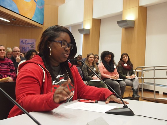Cuts to schools dominated the debate during last night's Boston School Committee meeting as students, parents and teachers appealed for ...