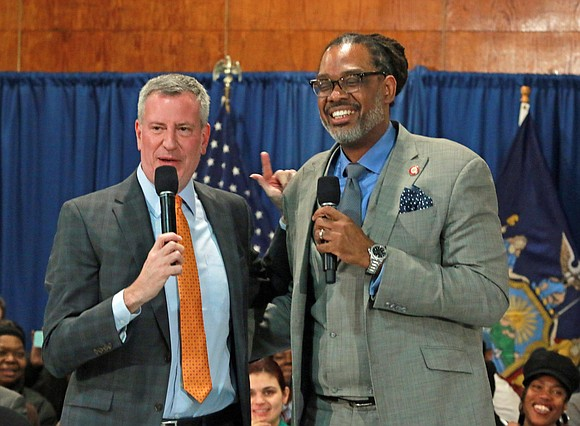 Bedford-Stuyvesant's P.S. 23 Carter G. Woodson Elementary School was the venue last week for a lively town hall meeting hosted ...