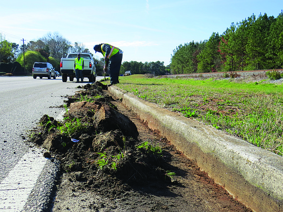 Muck, gunk, debris and all that stuff that have been caked up along DeKalb County curbs are getting the boot. ...
