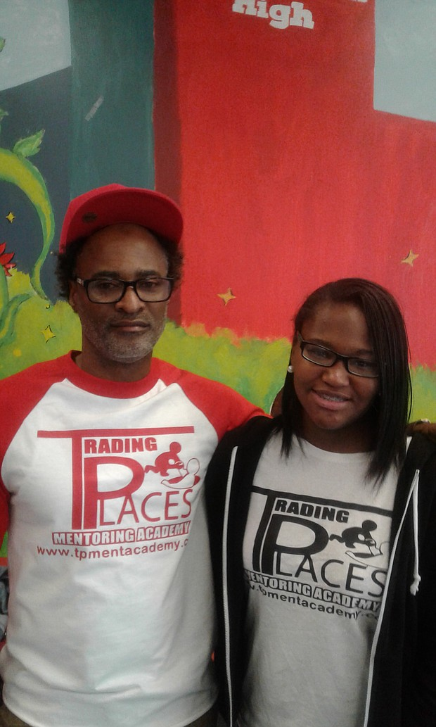 Nadir Nasheed is director of operations of Trading Places Mentor Academy where he motivates, encourages at-risk youth at schools in the greater Baltimore region. His 16-year-old daughter, India Nasheed is a junior at Woodlawn High School and supports her father's efforts to inspire area youth.