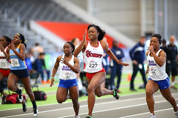 The last few weeks have been an exciting and somewhat remarkable time for St. John's University track athlete Adriana Wright.